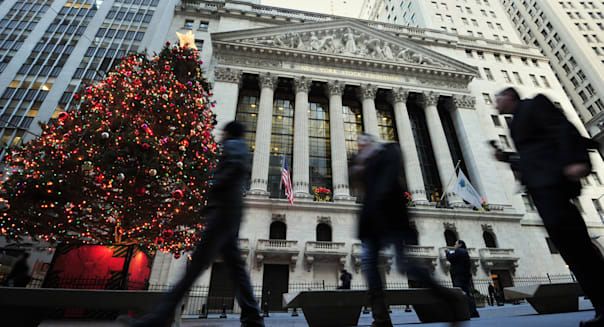 new york stock exchange closes early christmas holiday market report