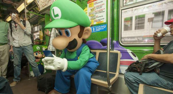 Nintendo Train Takeover