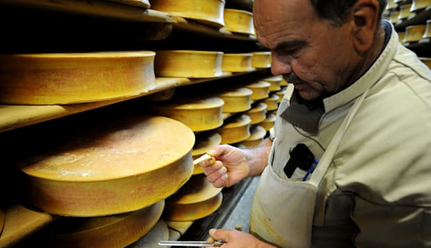 FRANCE-GASTRONOMY-CHEESE-BEAUFORT