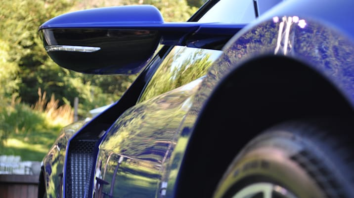 2017 Acura NSX side mirror