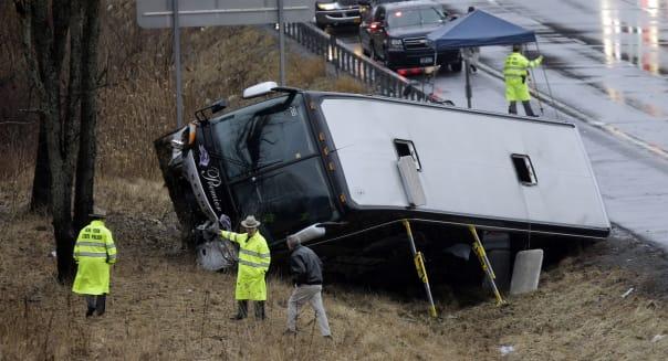 NY Bus Crash