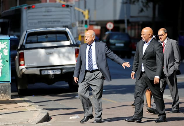 South African Treasury Chief Pravin Gordhan's Summons Back Home Rattles Rand, Stocks