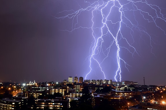 SAFRICA-WEATHER-LIGHTNING