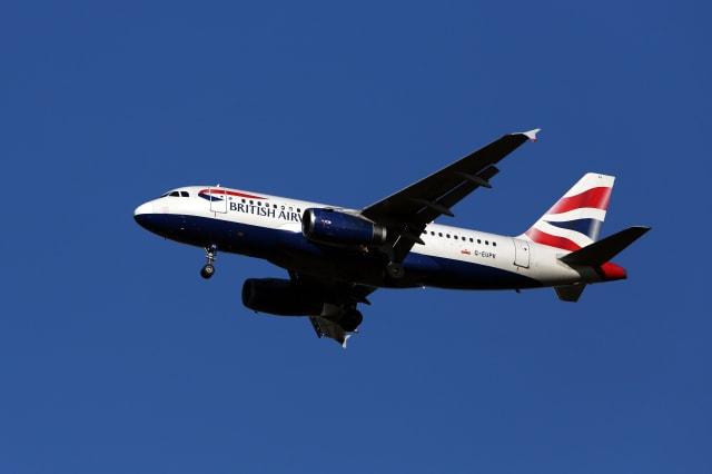 Plane Stock - Heathrow Airport