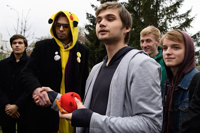 Russian blogger Sokolovsky who played Pokemon Go in church gets suspended sentence of 3-and-a-half years in jail