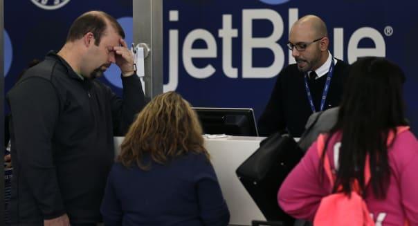 Deep Freeze JetBlue