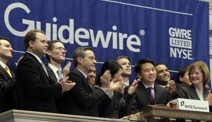 Wall Street Guidewire IPO