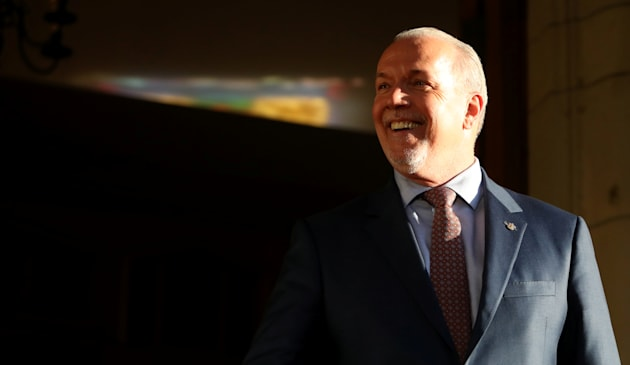 John Horgan sworn-in as new BC Premier