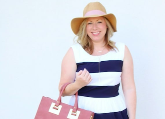 Street style tip of the day: Stripes and sun