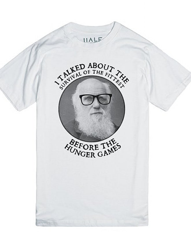 darwin hipster hunger games etsy shirt