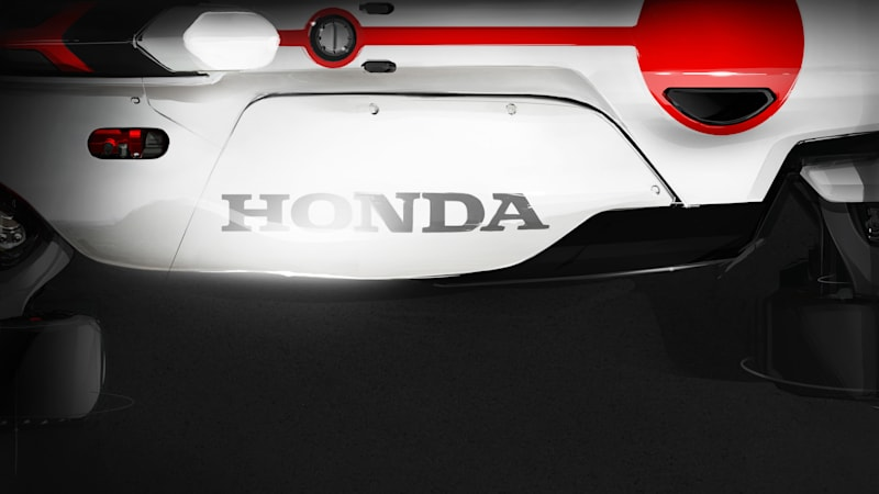 Honda teases racing motorcycle-powered concept for Frankfurt