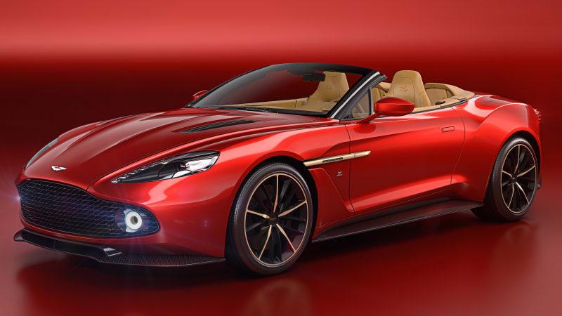 Aston Martin Vanquish Zagato Volante is the belle of the Pebble Beach ball