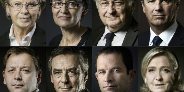 Onze candidats en lice pour l'élection présidentielle