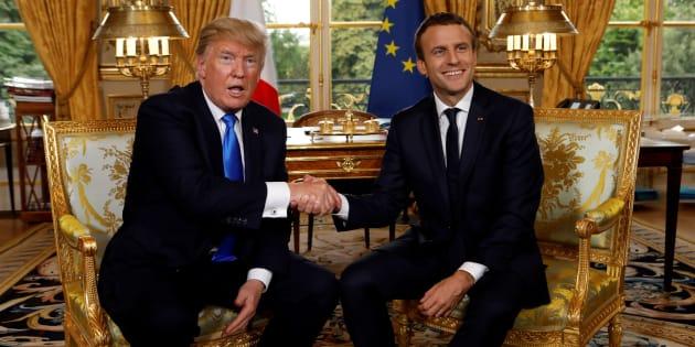 La remarque de Trump à Brigitte Macron passe mal