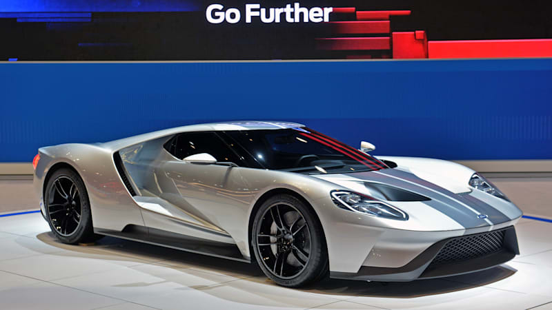 2017 Ford Gt Looks Resplendent In Liquid Silver And Will