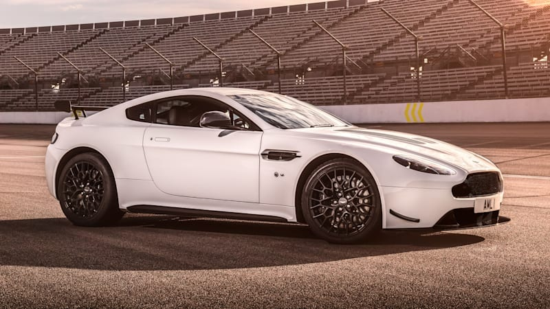 2018 Aston Martin V12 Vantage AMR with aero kit