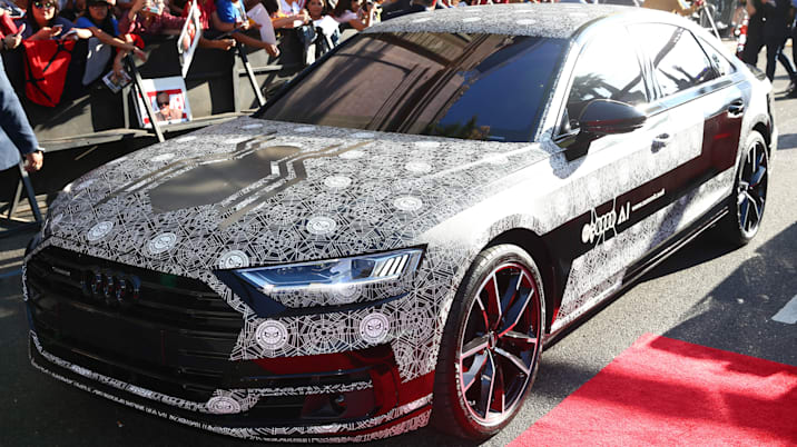 New Audi A8 at the Spider-Man: Homecoming premiere