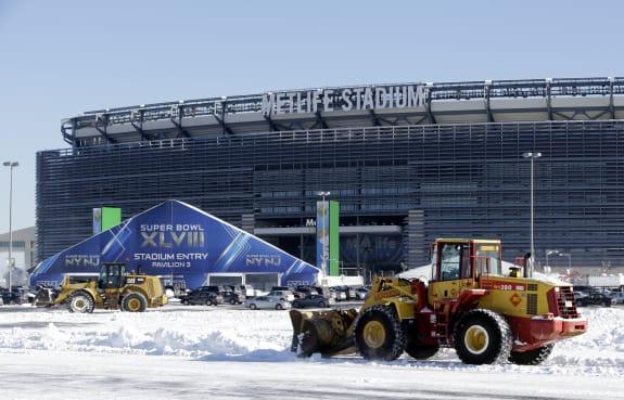 Winter Weather Super Bowl Football