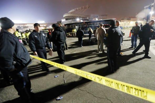 Football Stadium Lot-Death