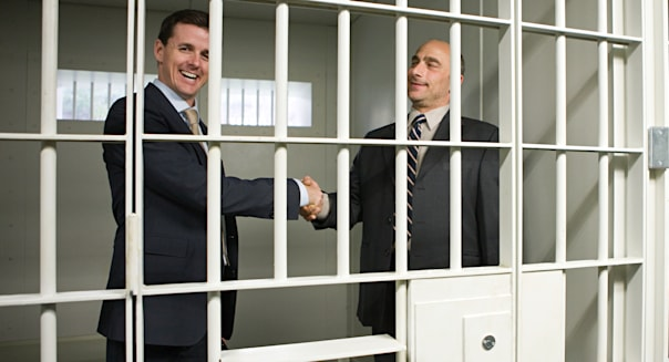 Businessmen in jail