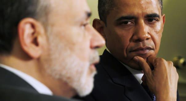 President Barack Obama Federal Reserve Board Chairman Ben Bernanke dodd-frank financial overhaul wall street