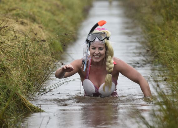 Wale's annual bog snorkeling championships
