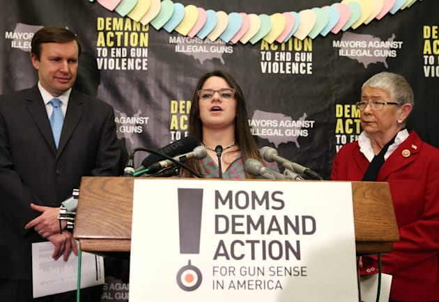 Gun Control Advocates Discuss New Study Of School Shootings Since Newtown