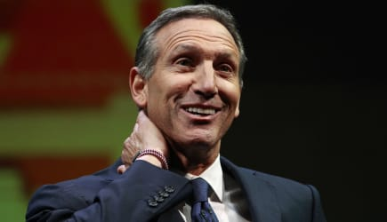 Starbucks Shareholders (Starbucks chairman and CEO Howard Schultz speaks at the annual Starbucks shareholders meeting Wednesday,