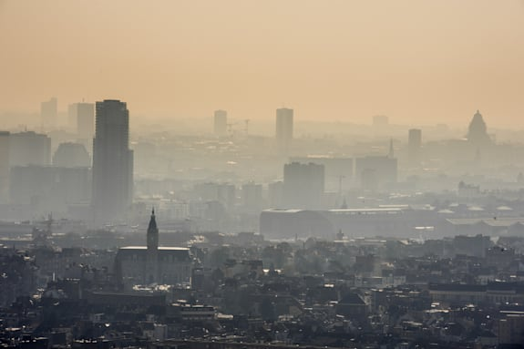 Belgium Smog Alert