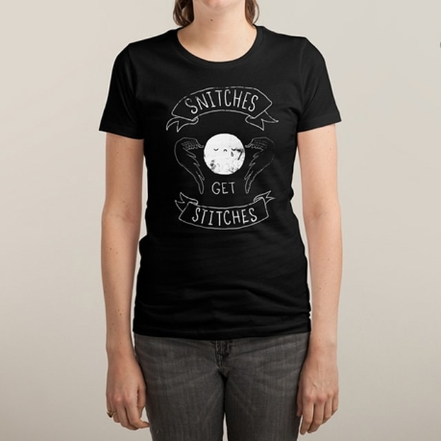 harry potter snitches shirt