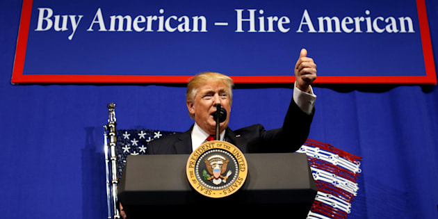 Trump signs order to tighten H-1B visa norms