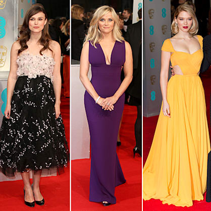 BAFTA Awards 2015: Who wore what