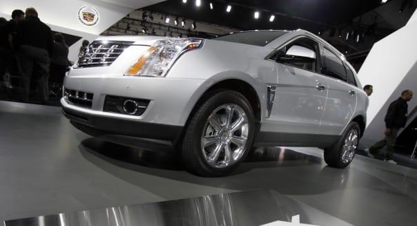 Auto Show Cadillac SRX