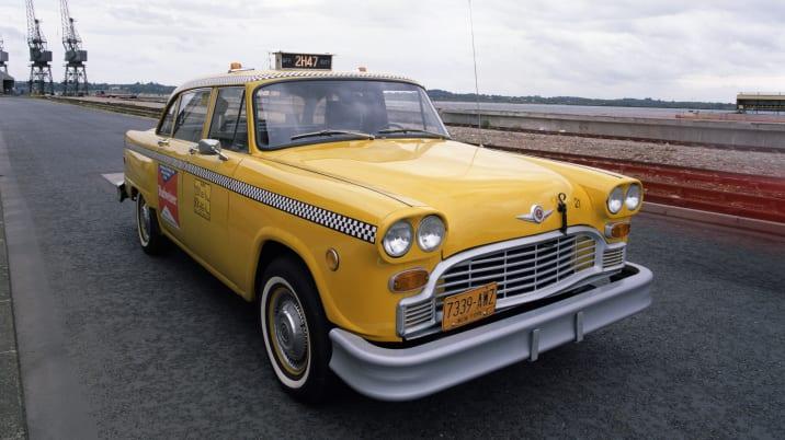 Checker A11 cab, 1980.