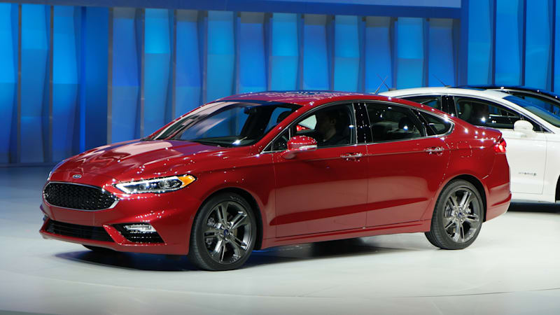 2017 Ford Fusion Sport brings fresh face and turbo performance