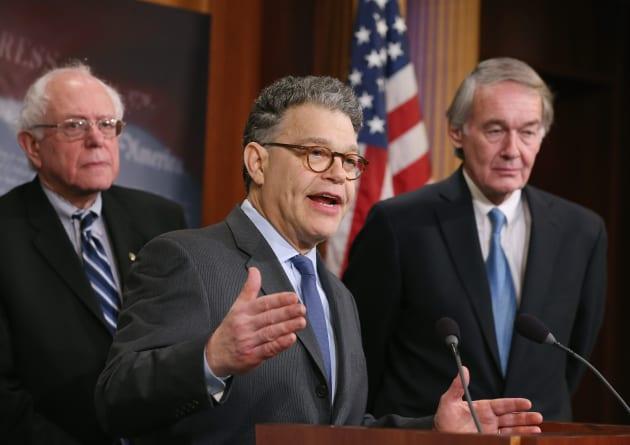 Sens. Markey, Booker, Franken, And Sanders Discuss Net Neutrality