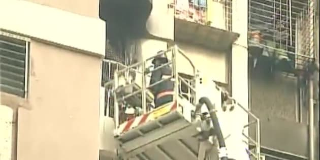Fire break out in Mumbai kills two persons