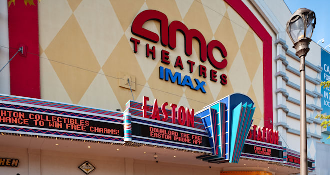 AMC Theatres at Easton Town Center in Columbus Ohio