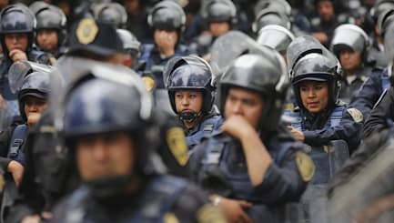 Mexican police accused of executions cover-up