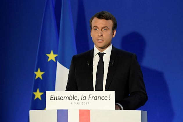 Macron eleito presidente — França
