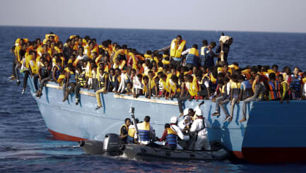 Thousands rescued off Libyan coast