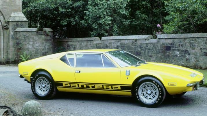 1974 De Tomaso Pantera GP4
