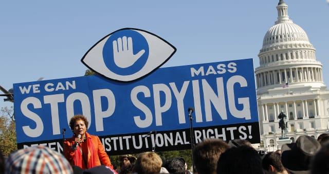 NSA Surveillance Protest