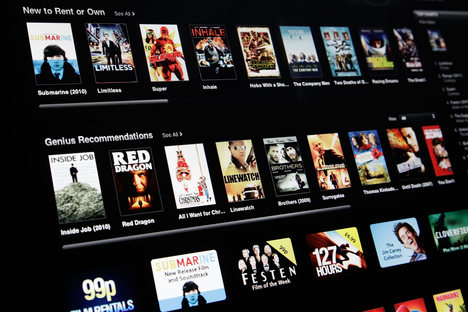 Apple reportedly working to rent new movies early on iTunes
