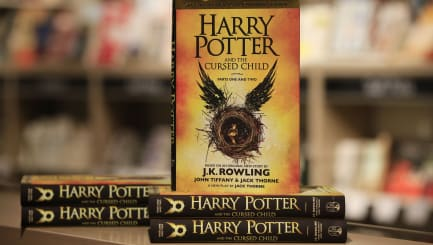 Harry Potter fans queue for new book