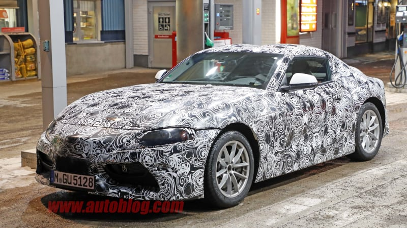 This parked Toyota Supra gives us our best look yet