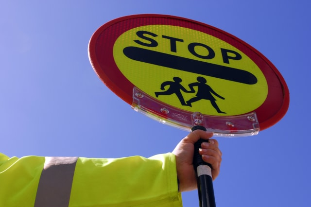School crossing patrol UK
