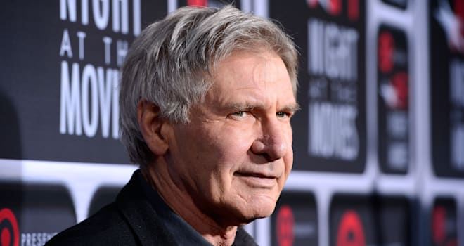 Harrison Ford at AFI's Night at the Movies at ArcLight Cinemas on April 24, 2013