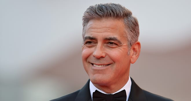 George Clooney at the 2013 Venice Film Festival