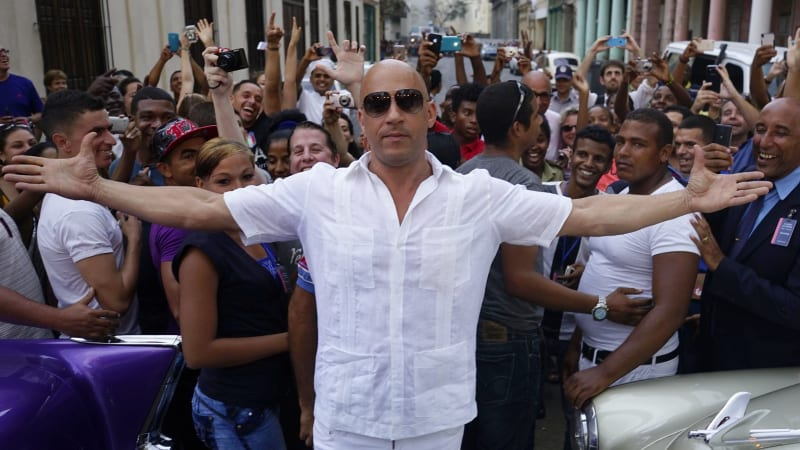 Vin Diesel reveals the release date for the Fast and Furious 8 trailer